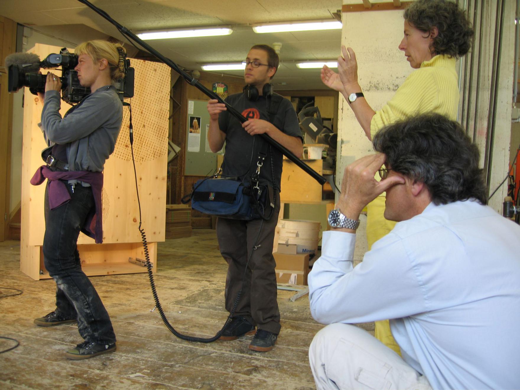 Design Suisse Verfilmung im Betrieb 2005